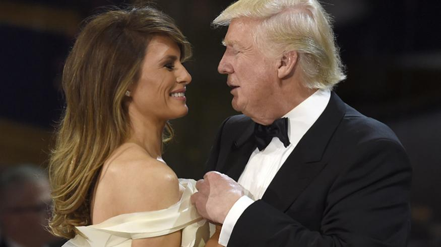 """First Lady on President Trump: """"He's the sexiest man in the world"""""""