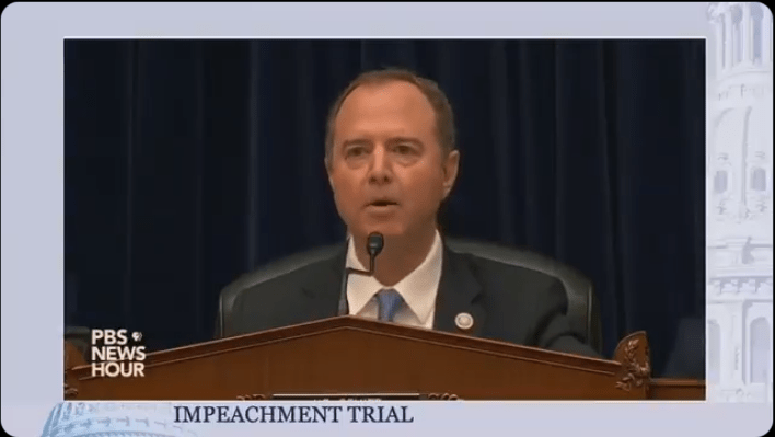 "Trump defense team opens impeachment trial with Adam Schiff's ""parody"" of the Ukraine call"