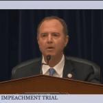 """Trump defense team opens impeachment trial with Adam Schiff's """"parody"""" of the Ukraine call"""