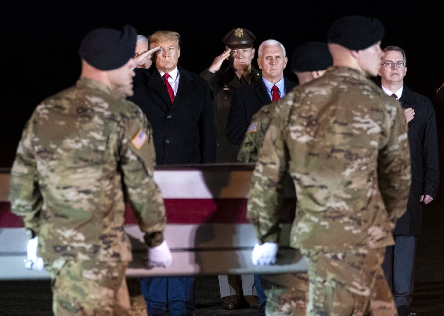 President Trump Cut New Hampshire Rally Short to Honor Fallen Troops at Dover