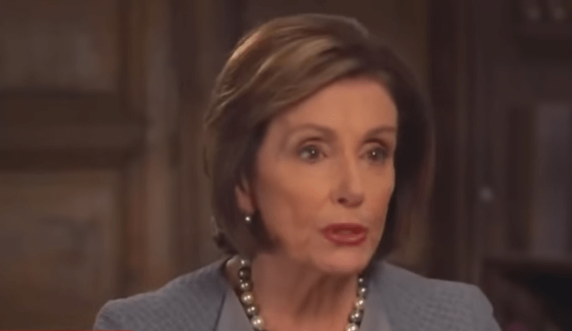 "VIDEO: Pelosi Still Maintains That Trump is ""Impeached Forever, Branded With That, and Not Vindicated"""