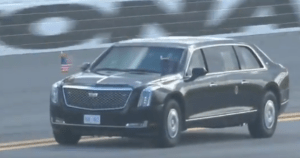 VIDEO: President Trump Takes The Beast For a Lap at Daytona 500