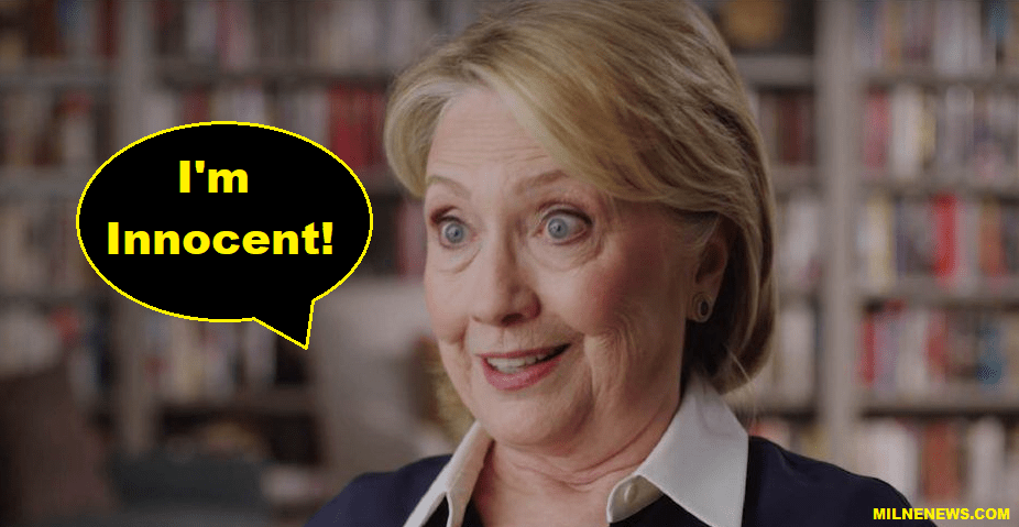Hillary Clinton Claims: 'I Am The Most Investigated Innocent Person in America'