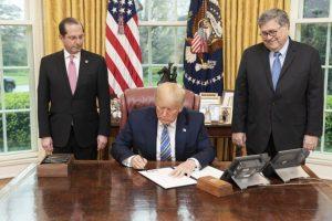 Trump Signs Executive Order Banning Hoarding & Price Gouging