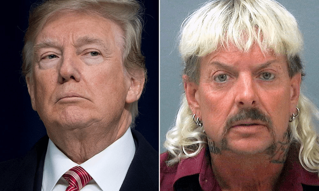 President Trump Says He Will Look At Pardoning Tiger King's Joe Exotic