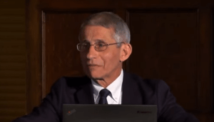 """VIDEO: Dr. Fauci in 2017 Said Trump Will Be Challenged By a """"Surprise Global Disease Outbreak"""""""