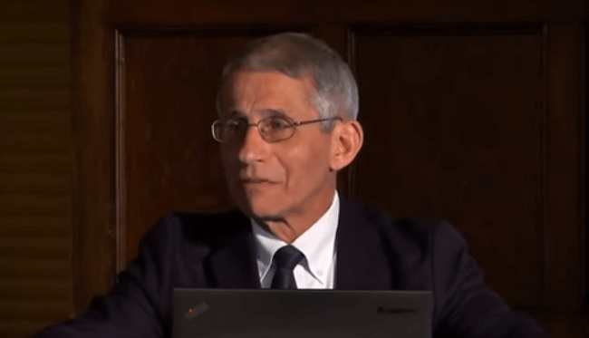"VIDEO: Dr. Fauci in 2017 Said Trump Will Be Challenged By a ""Surprise Global Disease Outbreak"""