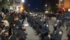 Two Federal Protective Service Officers Shot, One Killed in Oakland Riots