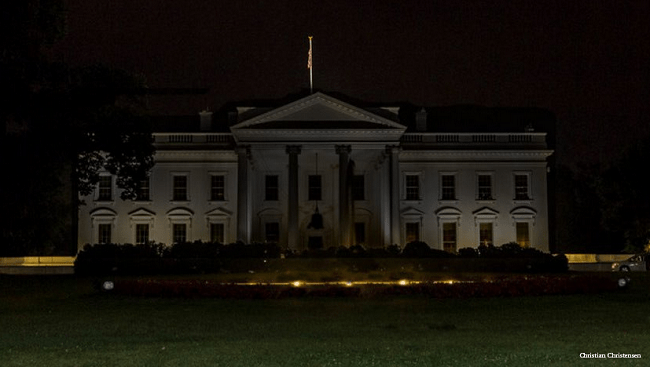 Photo Circulating Of White House Going Dark Is Actually From 2015