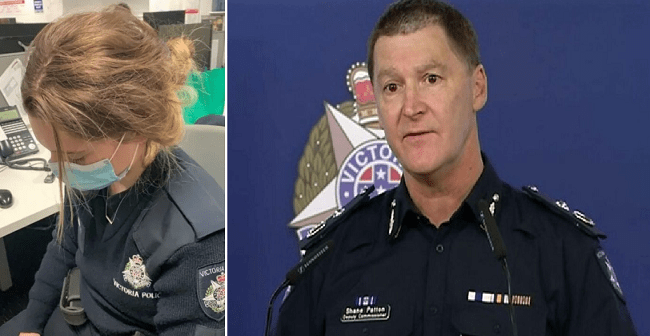 AUSTRALIA: Woman 'Smashed' Police Officer's Head Into Concrete When Told To Wear Mask