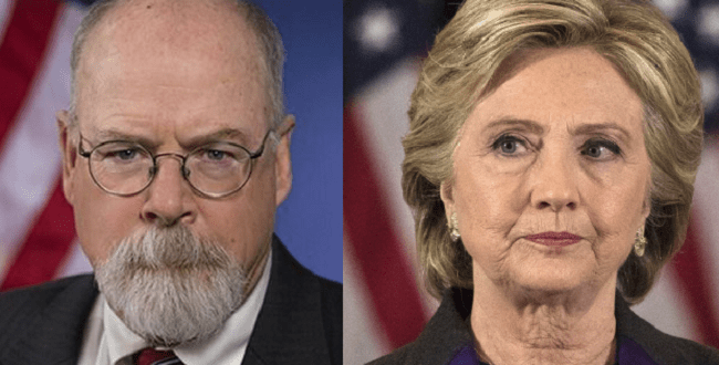 John Durham Now Looking Into Clinton Foundation