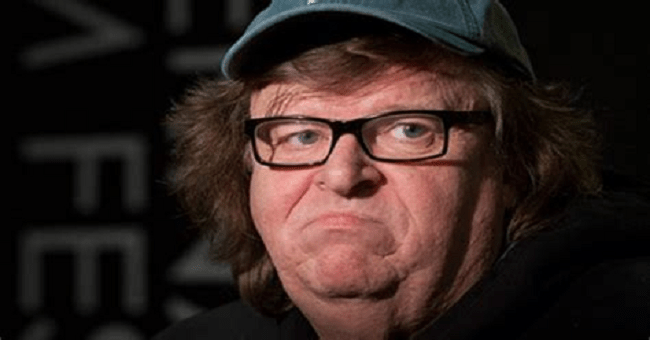 Crazy Man Micheal Moore Pushes Conspiracy Theory Trump Is Faking Having COVID