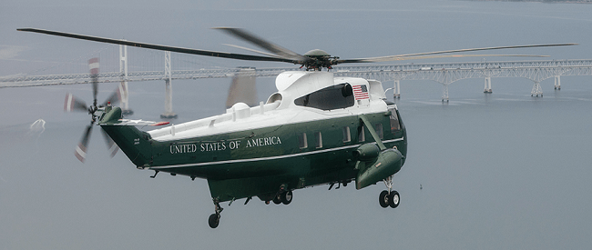 Amazing moment as Marine One performs a flyover thousands of Trump Supporters