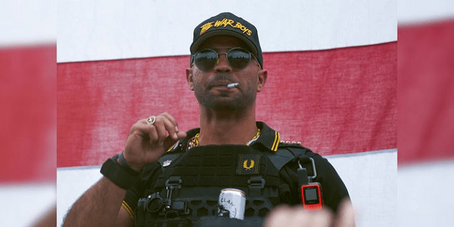 Proud Boys Leader Enrique Tarrio Banned From D.C Until Next Court Date