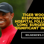 Tiger Woods Responsive In Hospital Following 'Long' Surgery For 'Significant' Injuries
