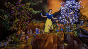 Cancel Culture Mob Comes For Disneyland's New Updated Snow White Ride