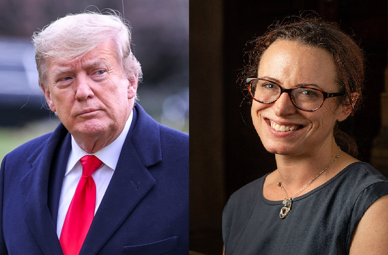 Maggie Haberman Is Lying That Trump Said He'll Be Reinstated As President By August