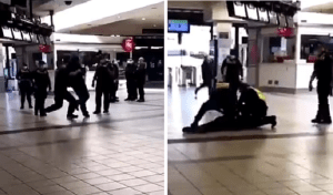 Thug Cop Who Slammed Man Face-First To The Ground Is Suspended