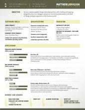 Creative CV _ Resume Examples 04