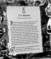 Yorks 1212 Charter