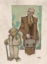 Yoda & Prof Obi Wan Kenobi
