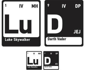 Elements of Luke & Vader
