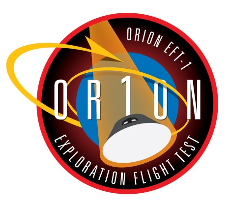 NASA Orion Flight Test EFT1 Logo
