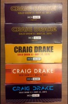Craig Drake Solo Show II Chocolate Boxes