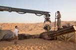 J.J Abram's directs Daisy Ridley's Ray on the Jakku AT-AT Walker Set