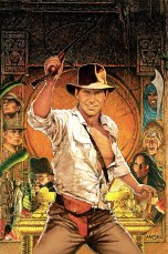 Raiders of the Lost Ark Classic Film Poster Without Word all Text Removed