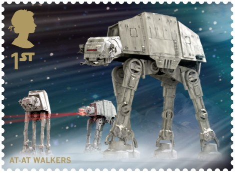 Royal Mail's Star Wars The Force Awakens Stamp Collection - AT-AT Walker
