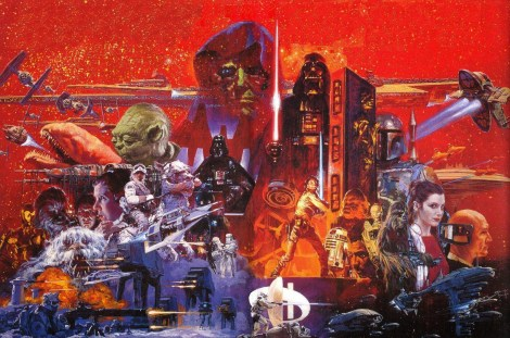 RIP Noriyoshi Ohrai Star Wars The Empire Strikes Back Japanese Film Poster