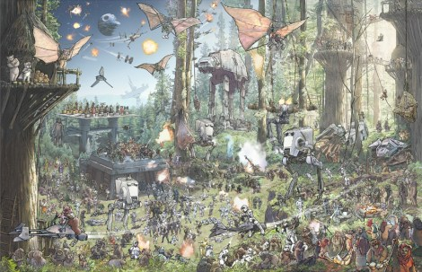 Star Wars - The Epic Battles Endor by Jeff Carlisle