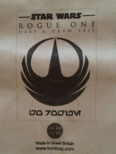 Star Wars Rogue One Crew Tombag with New Logo 6