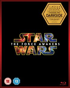 Star Wars The Force Awakens Blu-ray Box Cover Darkside Artwork