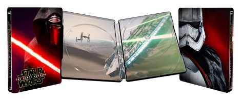 Star Wars The Force Awakens Metal Box Cover Artwork