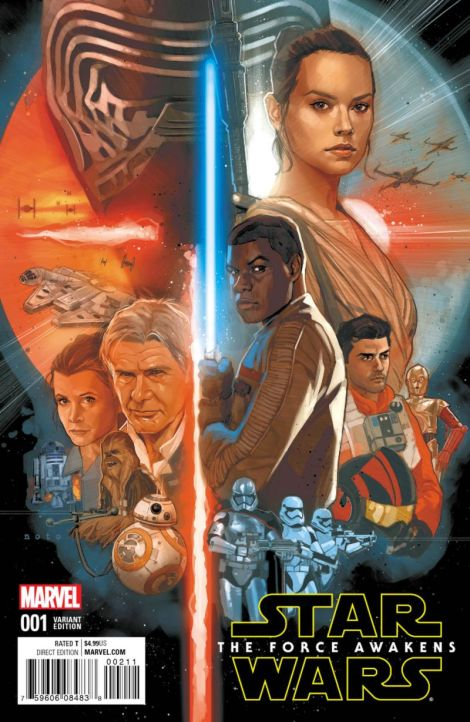 Marvel Force Awakens Comic ariant cover by John Cassaday and Phil Noto