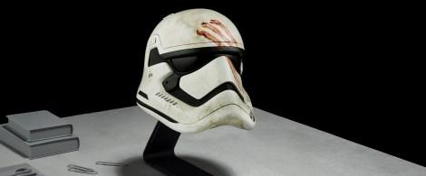 Star Wars The Force Awakens Helmet Replicas by Propshop Finn's Stormtrooper Helmet Hi-Res