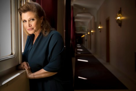 Carrie Fisher Heart Attack