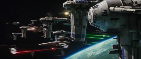 Star Wars _ The Last Jedi Trailer Breakdown - Space Battle