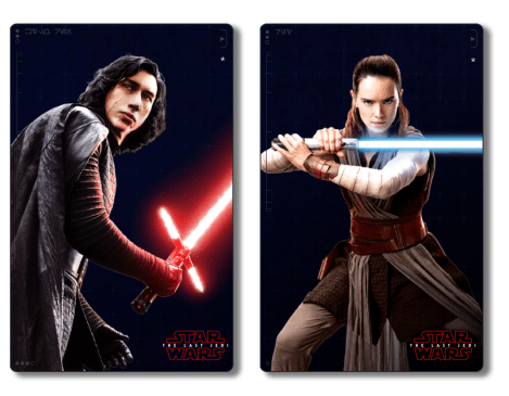 The Last Jedi Costumes of Kylo Ren and Rey