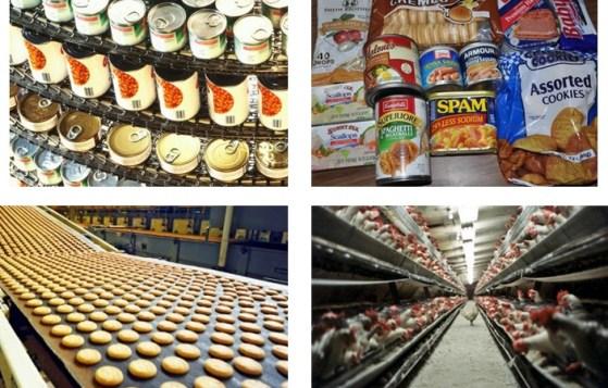 industrial food