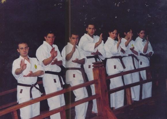 karate klub tsunami otvara japanski vrt
