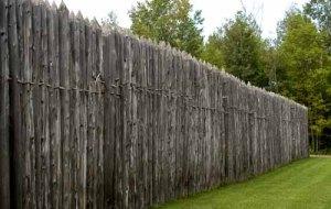 Дрвене барикаде за римску војску постављене на пнанинским прелазима.