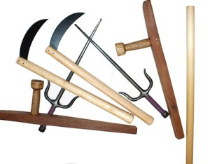 Kobudo equipment weapons