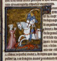1348. minijatura iz spisa Legenda Aurea, Pariz.
