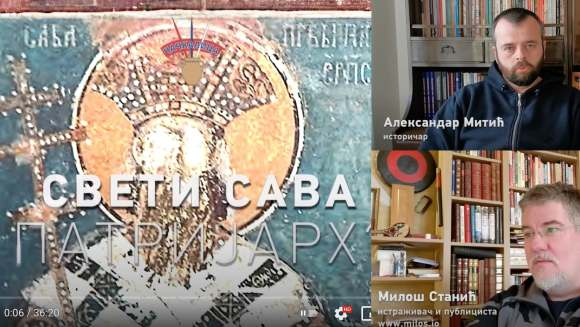 Sveti Sava prvi patrijarh srpski 1