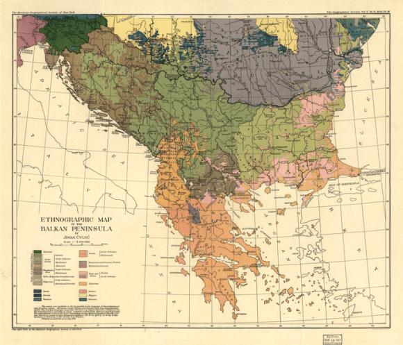 sloveni na Balkanu