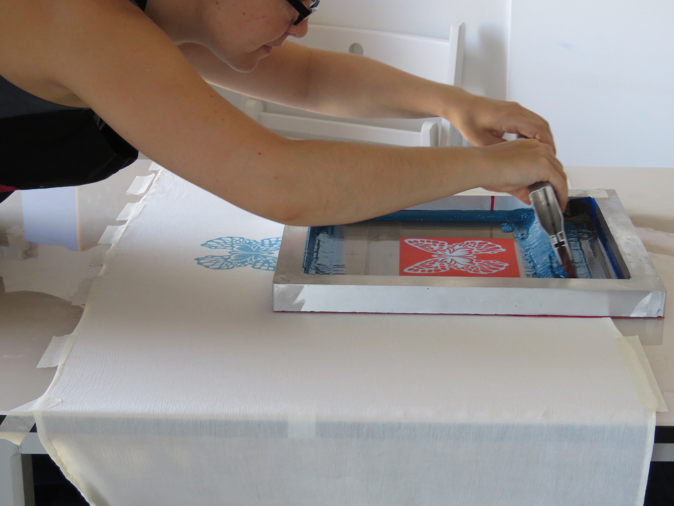 Ecological Screen Printing Experience