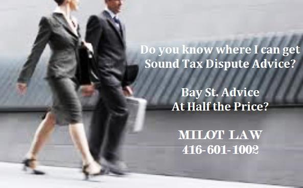 Sound Tax Dispute Advice Milot Law